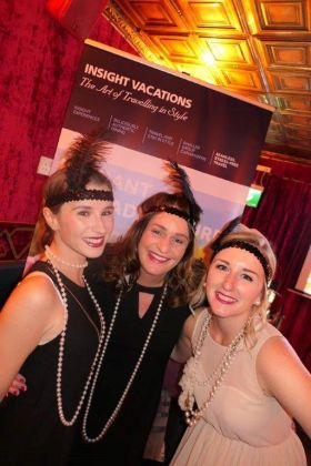 Carol Hurley, Sharon Jordan and Marissa Beck (The Travel Corporation Ireland)