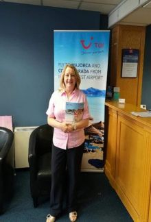 TUI and Ireland West Airport Winner is Fidelma Burke.