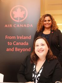 Air Canada Launches its New LEAVE LESS Travel Program, Leading Sustainable Business Travel. Blaithin and Bernadette update trade partners in Ireland.