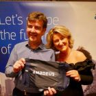 Mark Clifford wins an Amadeus goodie bag