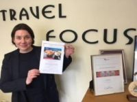 Fiona Coghlan (Travel Focus) Wins Air France Tickets to Paris!