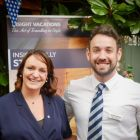 Sharon Jordan and Adam Goddard from The Travel Corporation