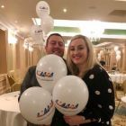 Love the AJV Balloons with Aoife Gregg Anderson (United Airlines)