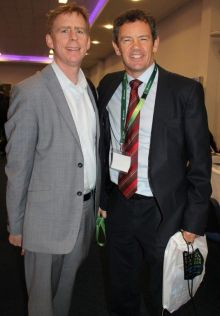 Stephen McKenna (GoHop.ie) and Philip Airey (Sunway Holidays)