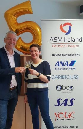 Alan and Joanne Sparling (ASM Ireland)
