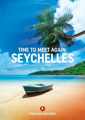 Time to meet again with Turkish Airlines in the Seychelles