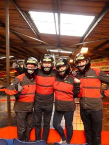 Kylemore Karting was the venue for the Norwegian Cruise Line Race to Bliss