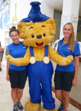 Bamse, he is the world's strongest bear and loves meatballs you know!