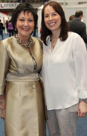 Maureen Ledwith (Holiday Show Shannon) and Isabel Harrison (Shannon Airport)
