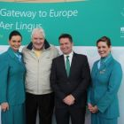 Gerry Benson (Publisher & Editor Travelbiz) and Declan Kearney (Head of Communications Aer Lingus) on press trip