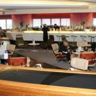 A view of the Virgin Atlantic Clubhouse Lounge at Heathrow