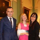 Juan Jose Gonzalez (Sales Director Paradores) Marian Benton (MAP Travel) and Barbara Garcia (Paradores Spain)