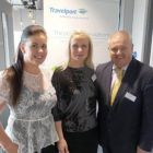 Joanne Madden, Sinead Reilly and David Taylor, (Travelport Ireland)