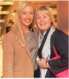 Tryphavana Cross (LVCVA Account Director) and Jennifer Callister (Head of Sales RCCL Ireland)
