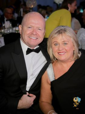 Award winner Ciaran Mulligan (Blue Insurance) with Carol Anne O'Neill (Worldchoice)