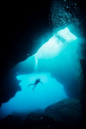 Diving Blue Hole, Gozo