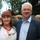 Vincent Harrison (Dublin Airport CEO) and his wife Claire.