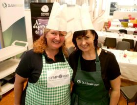 Lynda Betsch and Edel Redmond get cooking!