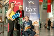 Brian Gallagher (Head of Aviation Business Development Cork Airport), Brenda Roche (Travel Trade Engagement Specialist Cork Airport) and Shauna Kelly (Reseller Development Manager Topflight)