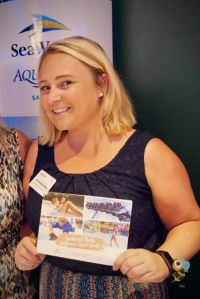 Michaela Gray (Sales Manager UK and Ireland SeaWorld Parks & Entertainment)