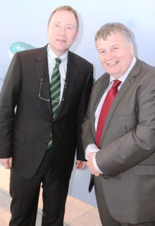 Stephen Kavanagh (CEO Aer Lingus) and Mike Rutter (Chief Operating Officer Aer Lingus)