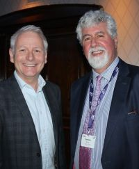 Andy Harmer (Director CLIA UK & Ireland) and Dominic Burke (Chair Irish Travel Agent Advisory Council)