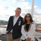 Richard Twynam (Managing Director UK & Ireland Azamara Cruise Club) and Karen Sequiera (Head of PR & Marketing UK & Ireland)