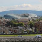 Aviva Stadium - one of the lovely views from the ship