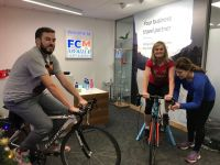 FCM Travel Solutions Cycle in house for Focus Ireland