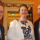 Niall Gibbons, Louise Finnegan  and Mark Henry (all Tourism Ireland)