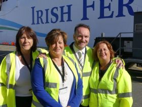 The Irish Ferries Trade Team win again