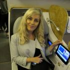 Marike Nolan (Douglas Travel) loves Emirates Business Class.