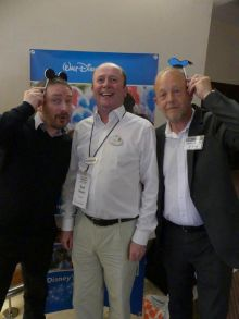 Barry, Carl and Martin taking the Micky.