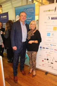 Niall Mc Donnell (Head of Sales Classic Collection) with Master Chef Jacinta Mc Glynn.