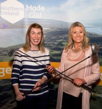 Naomi Waite (Tourism NI) and Fiona Cunningham (Tourism NI)