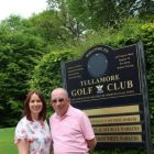 Isabel Harrison (Shannon Airport) and Bill Smith (President TIGS)