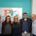 David and Liz (PK Travel) with Ranveig, Stephan and Padraic.