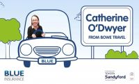 Blue Insurance December 2017 finalist is Catherine O'Dwyer (Bowe Travel, Tipperary)