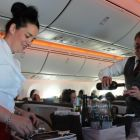 Great onboard service in Upperclass from Lynn and Anthony