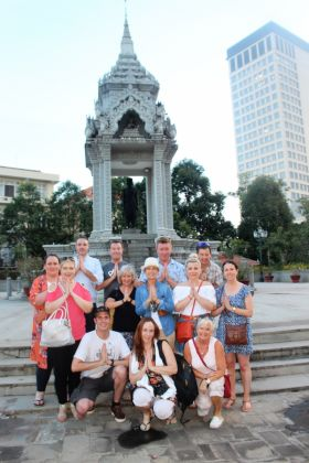 Group in Phnom Penh