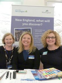 Patricia Perdue and the team from New England at the 'Taste of America' roadshows