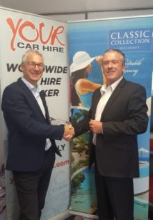 Alan Sparling (Your Car Hire, ASM) and Niall Mc Donnell (Classic Collection)