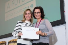 Fiona Noonan from American Airlines with Travel Counsellor Lorraine Costello - AA Prize Winner