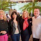 Alana Byrne (MSC Cruises) with the gang from Shandon Travel.