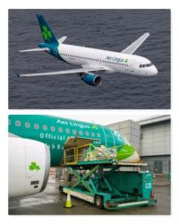 Aer Lingus deliver first consignment of Moderna Vaccine
