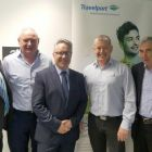 David O'Grady (e Travel) David Conlon (Travelport) Aidan Coughlan (WTC) and Joe Tully (Tully Travel Worldchoice)