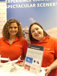 Bernadette and Blaithin (Air Canada Ireland)