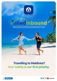 Maldives Government offers Optional Covid Insurance cover