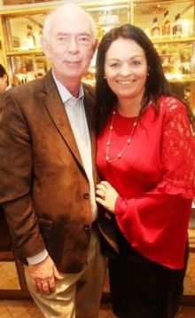 Richard Cullen with Mary King (Travel Savers/ Worldchoice)
