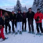 The Snow Shoeing group